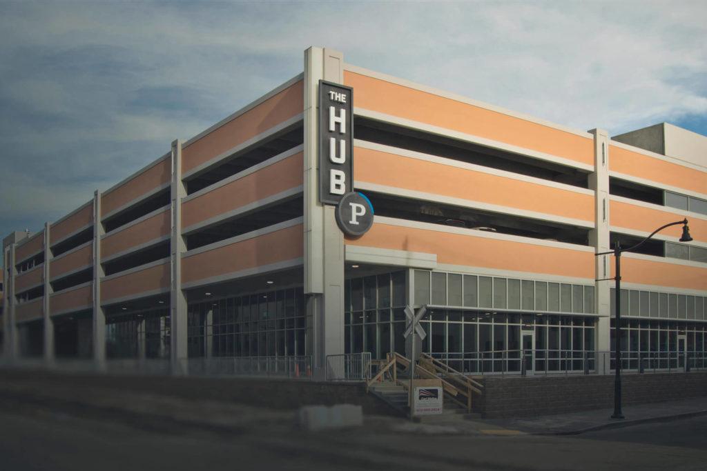 The Hub Parking Garage
