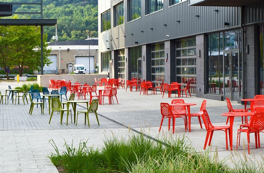 Industrial plaza